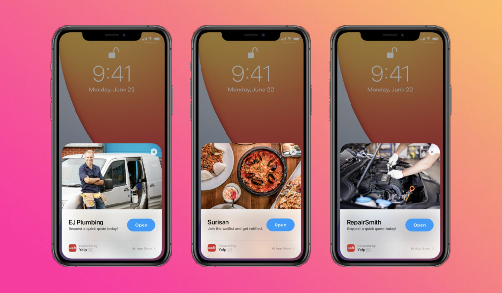 WWDC2020 - App clips give you chunks of information on iOS 14